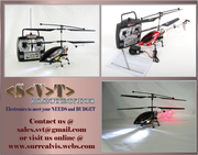 Brand New Remote Control Electric Helicopter + Stabilizer