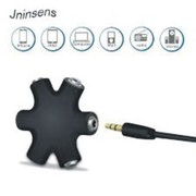 3.5mm Hexagon Shape Earphone Adapter