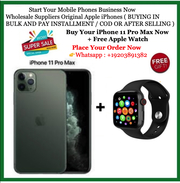New Sealed iPhone 11 pro max + Extra Apple Watch Series 5 40mm